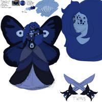 Actual Gemsona concept art by OmNatSi