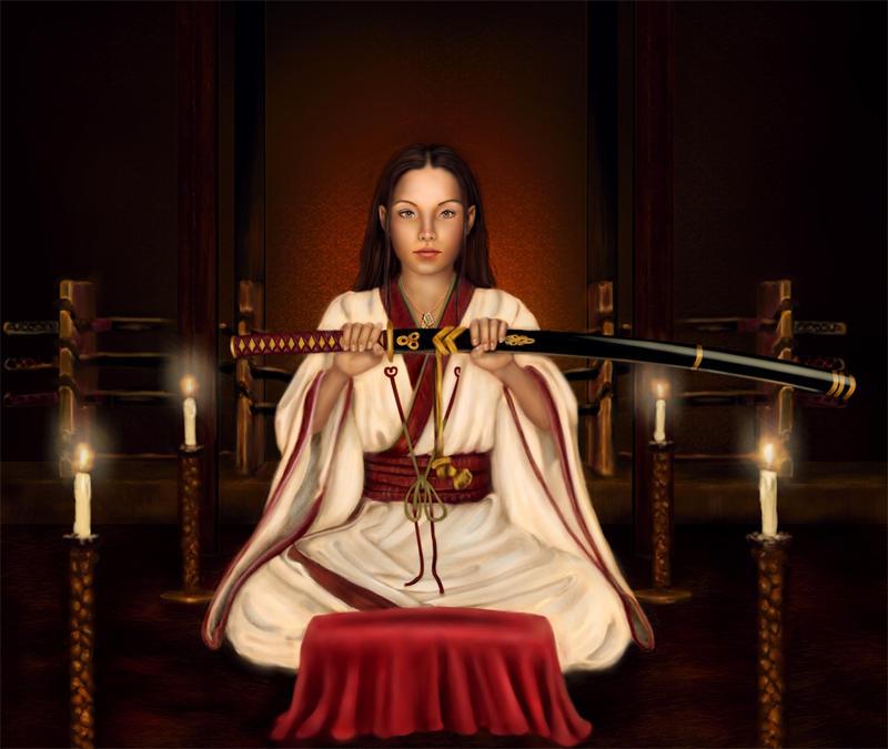 A Young Samurai Warrior by FreyjaSig
