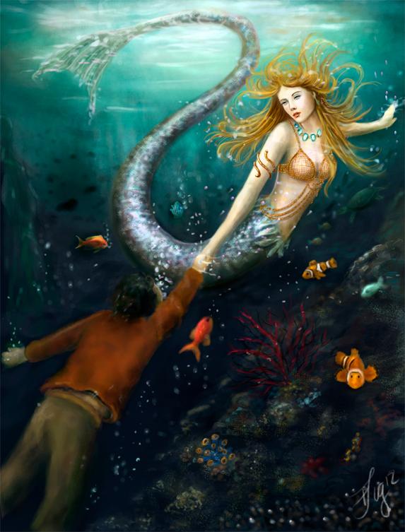 The little mermaid by FreyjaSig