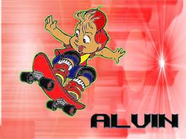 Alvin Skateboarding by NikChik-11