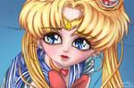 Sailor Moon  Redraw Challenge by ranshin06