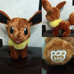 Build a bear Eevee