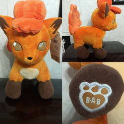 Build a bear Vulpix