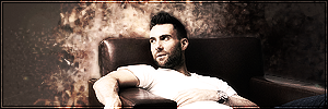 Adam Levine by BrokenDreamz95