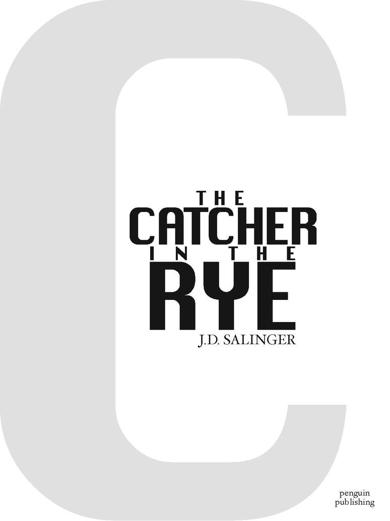 the catcher in the rye rewrite Renowned literary critic louis menand noted that rewriting catcher in the rye  had become a literary genre all its own he named sylvia.