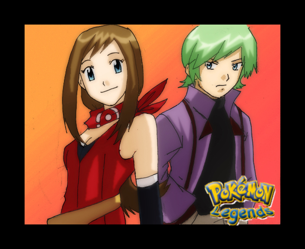 pokemon Legends:  May and Drew by Nishi06