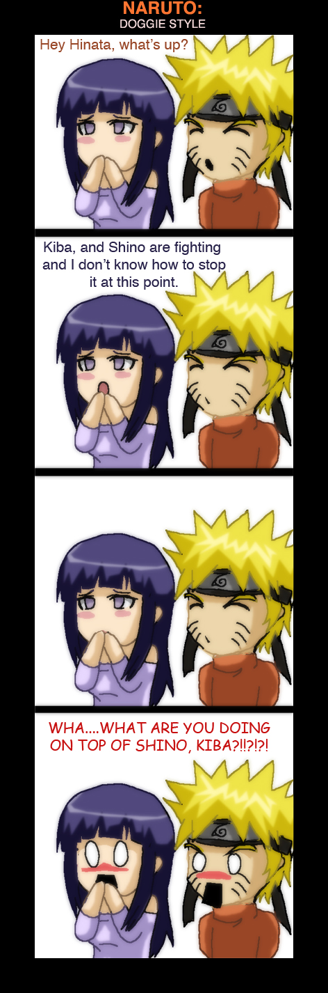 Naruto : Doggie Style by Nishi06