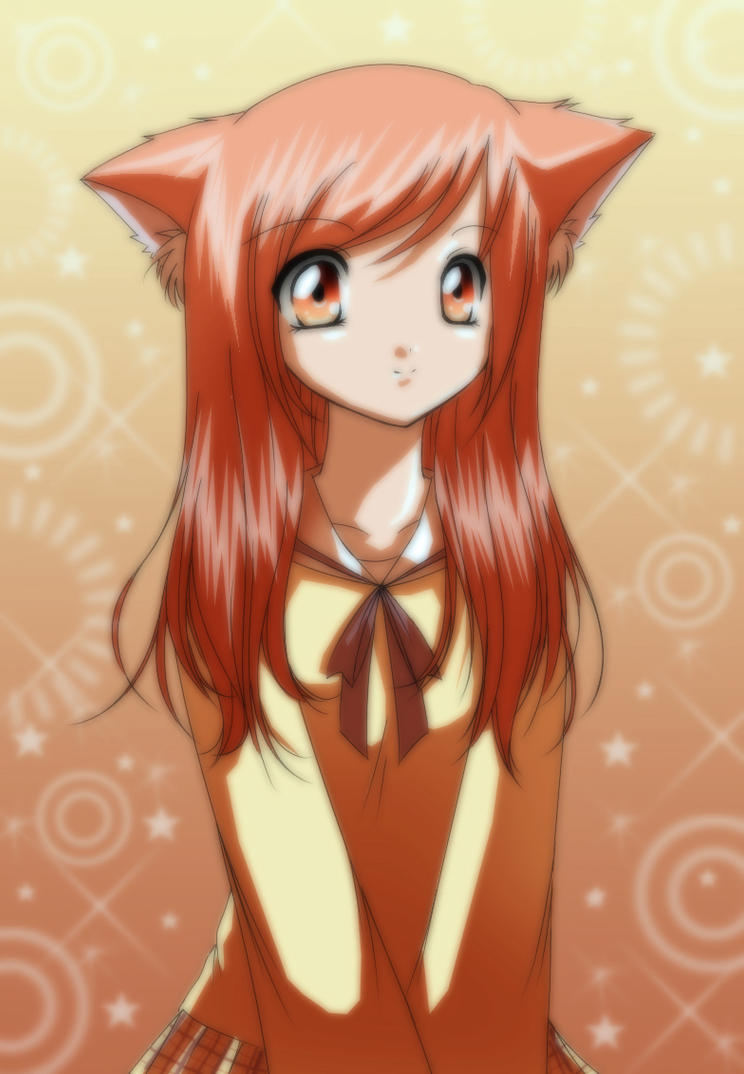 Cat Girl by strawberrycake by Nishi06