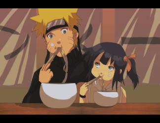 Naruhina: Naruto and Natsuko by Nishi06
