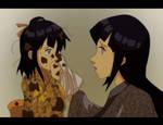 Naruhina: Hinata and Natsuko
