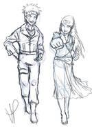 darthmadigan comish sketch by Nishi06