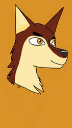 Unnamed Wolf Character by CarelessCuriosity