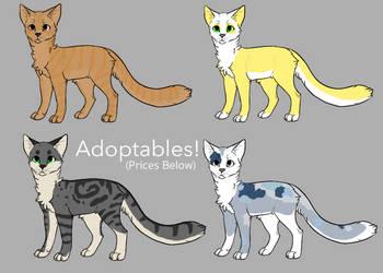 Cat Adoptables OTA (Batch 2) by CarelessCuriosity