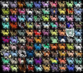 100 Cat Adopts!!! (OTA) by CarelessCuriosity