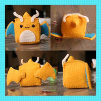 Nell's Dragonite Cube (Sold) by TheStarKeepers