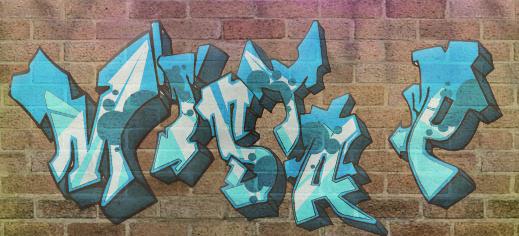 Graffiti by tenmatentei