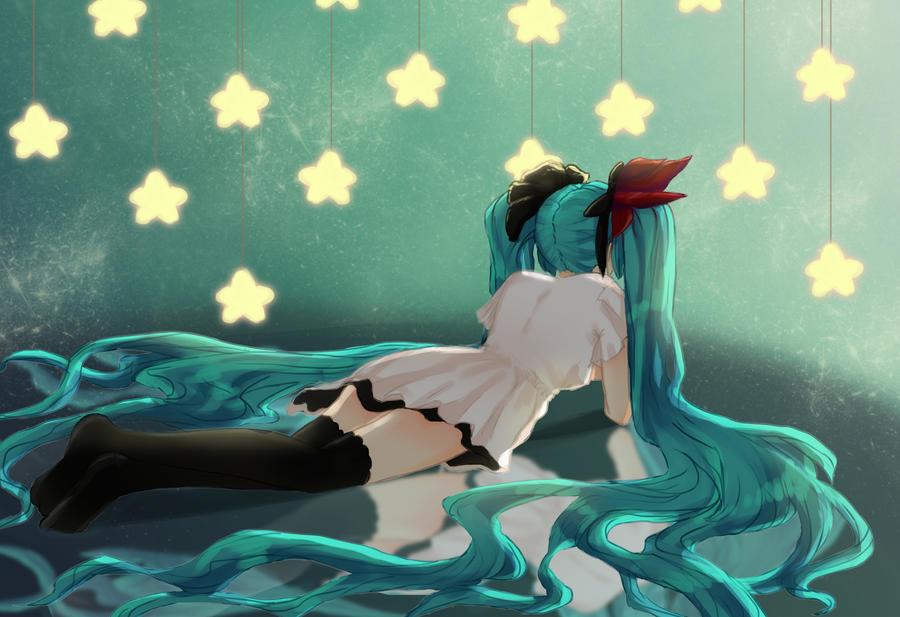 Miku Hatsune by MegoMyLego