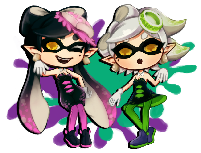 Callie And Marie Wallpaper: Callie And Marie By MegoMyLego On DeviantArt