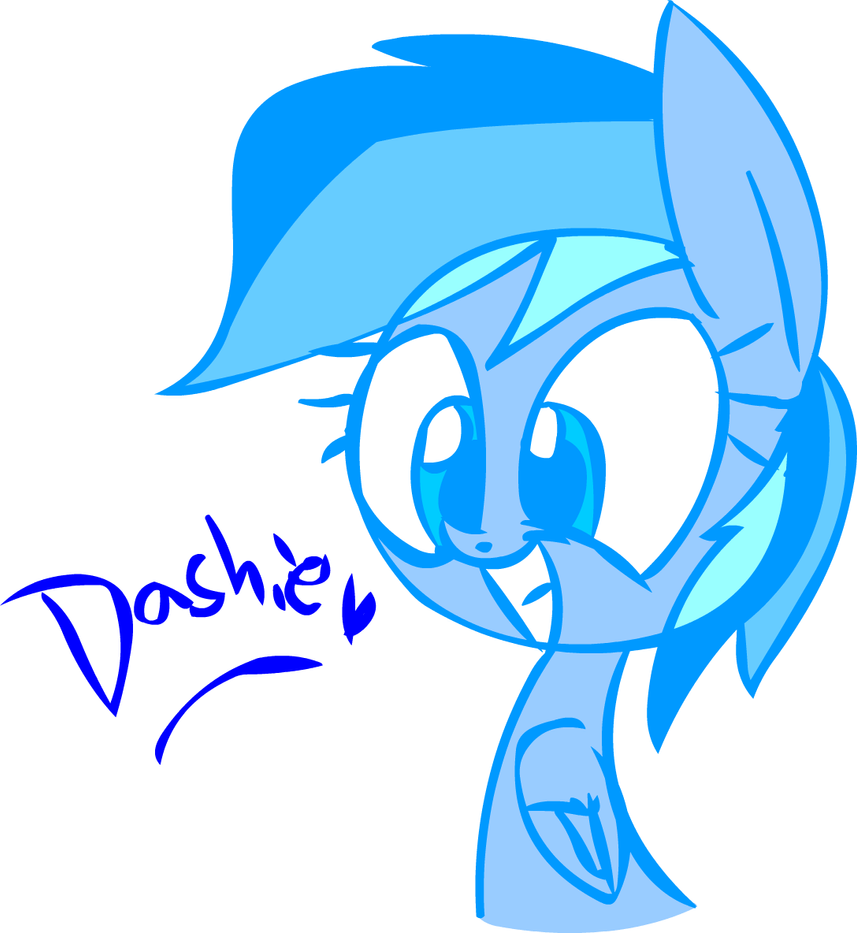 Dashie! by Mushroom-Cookie-Bear