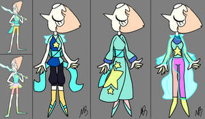 Pearl re-designs