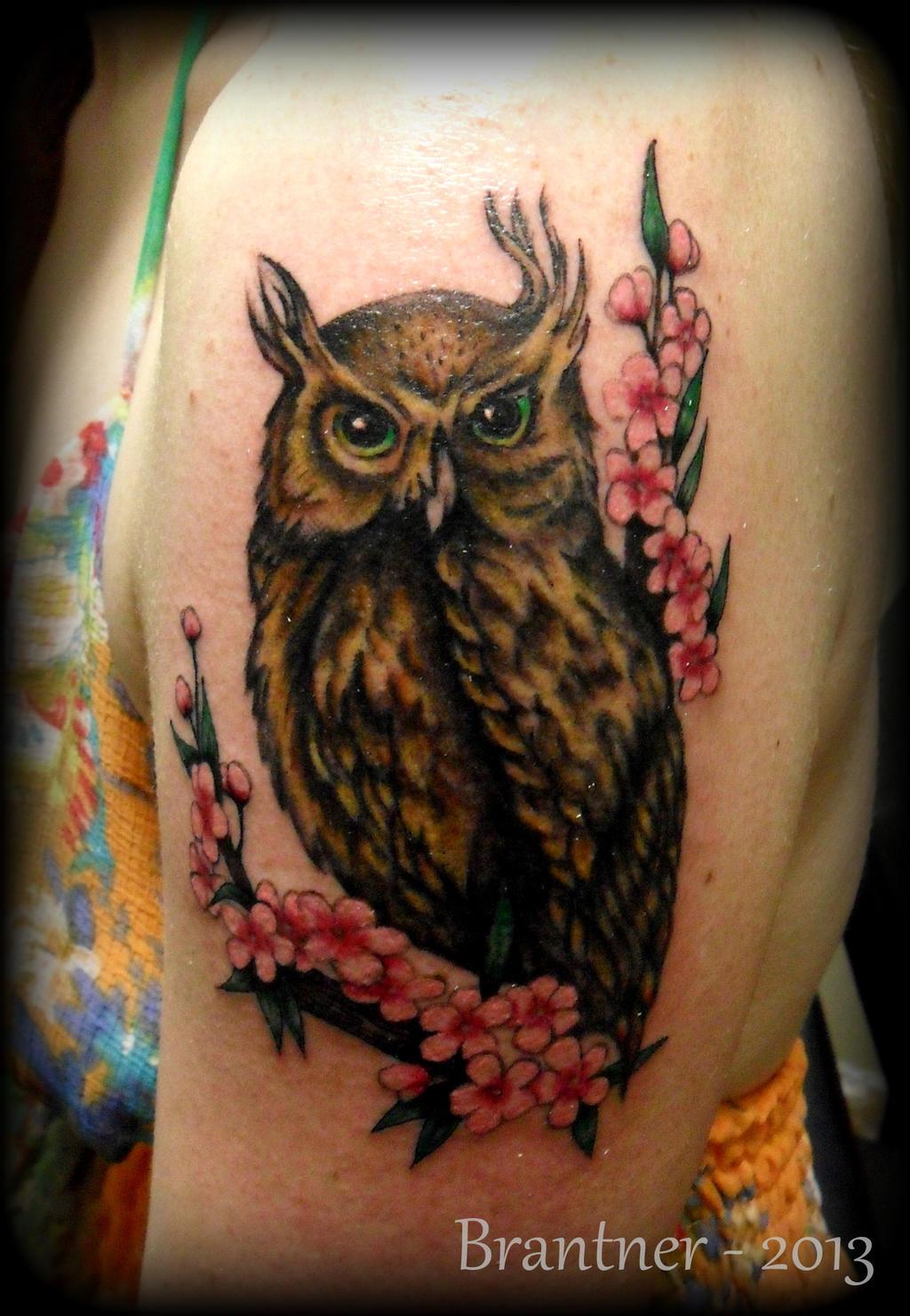 Horned Owl Tattoo Design Horned Owl Tattoo by