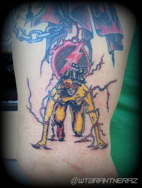 Reverse Flash Tattoo by BrantnerTattoo74 on DeviantArt