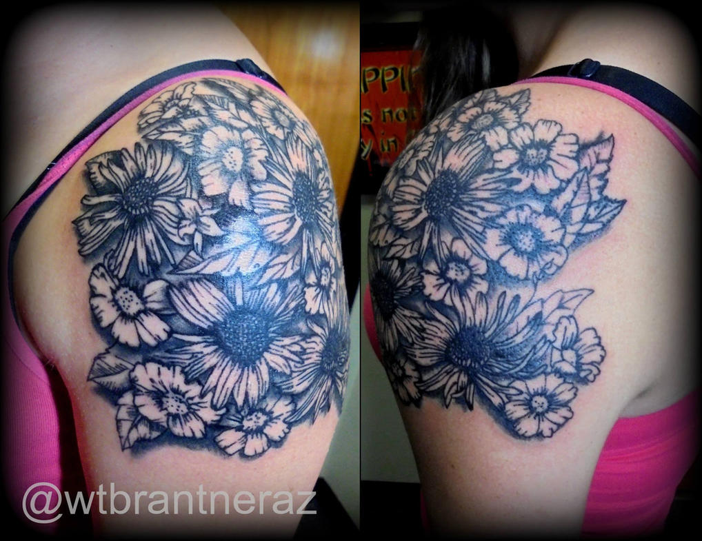 5377c8c95 Daisy Tattoo By Fake6pack Deviantart – Fondos de Pantalla