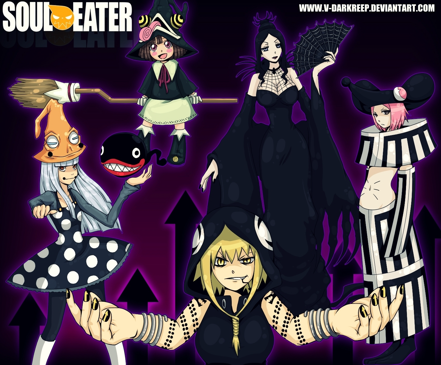 Soul Eater Witches by xDarkreepxSoul Eater Witch Soul