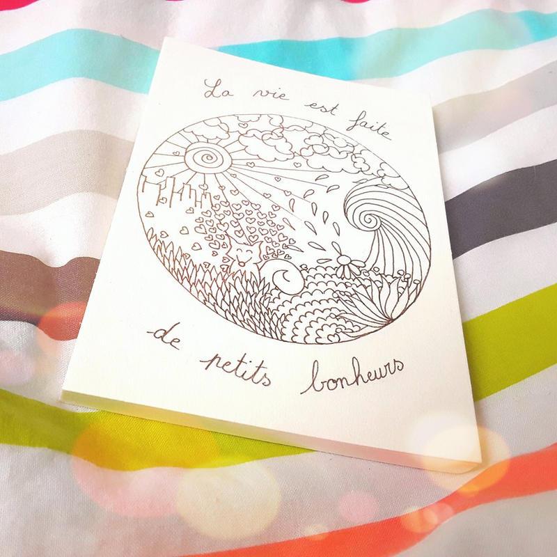 Mandala and fox by Gloewen-Art