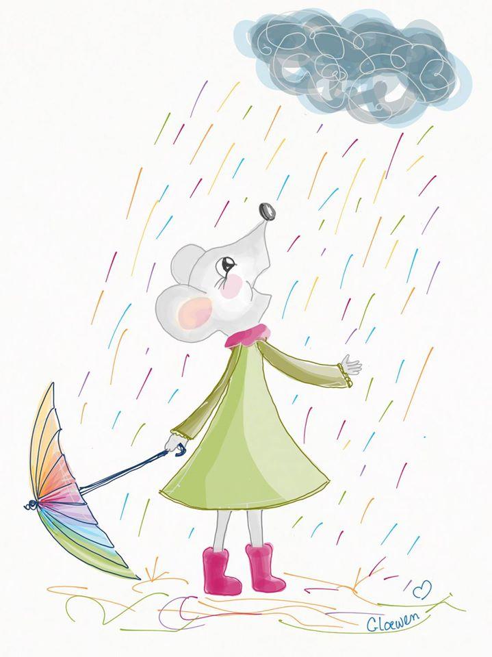 Rainy day by Gloewen-Art