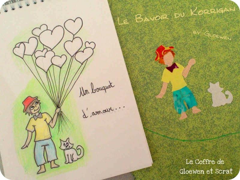 Love bouquet by Gloewen-Art