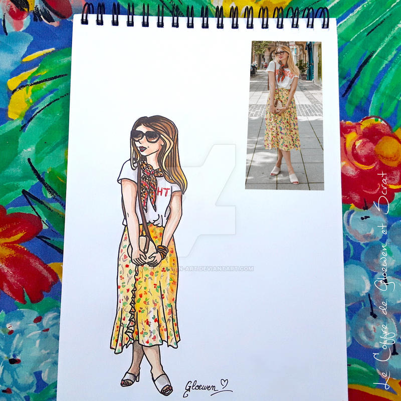 Look of the day 8/100 by Gloewen-Art