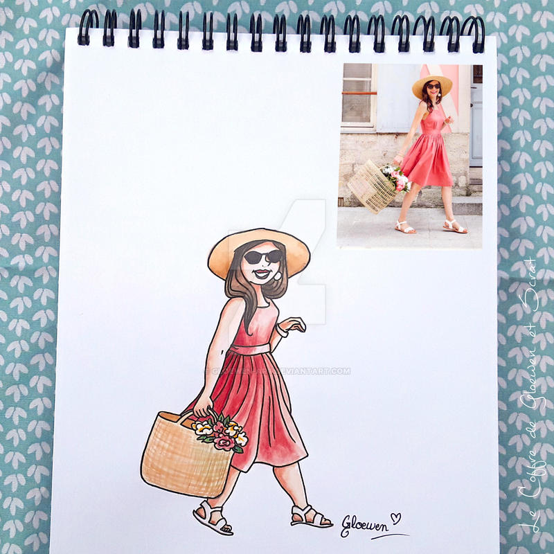 Look of the day 9/100 by Gloewen-Art