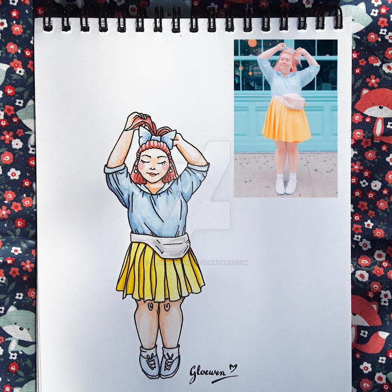 Look of the day 11/100 by Gloewen-Art
