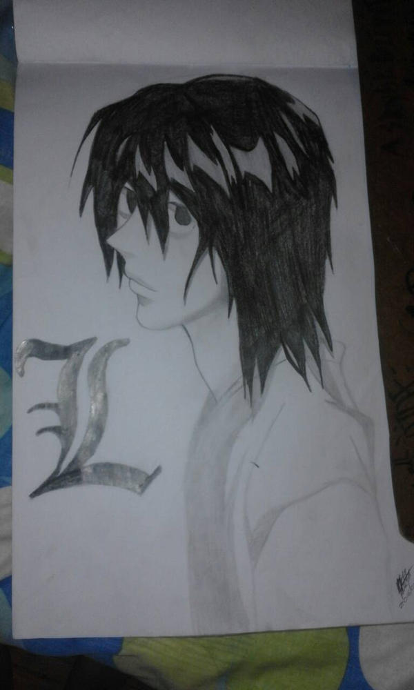 L (Death Note) by sinisterval
