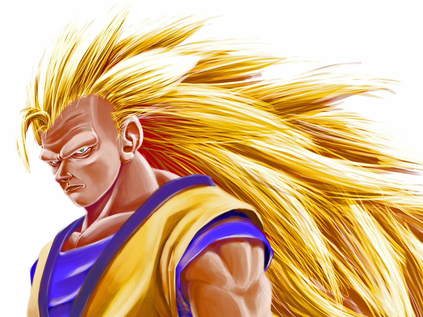 Goku Super Saiyan 3 By Han7s On DeviantArt