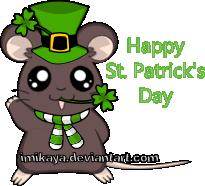 Happy Saint Patrick's Day by imikaya