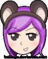 Purple Hair by imikaya