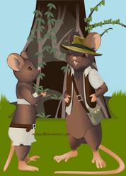 Chatty mice