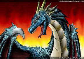 Another dragon by DarkenStarDragon