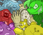 Warioland 4 Bosses by ayyk92