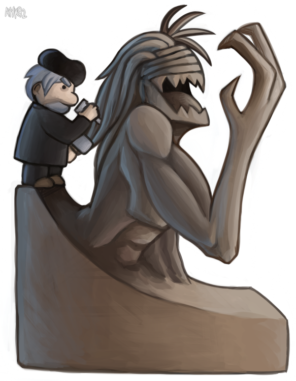 Statuette by ayyk92