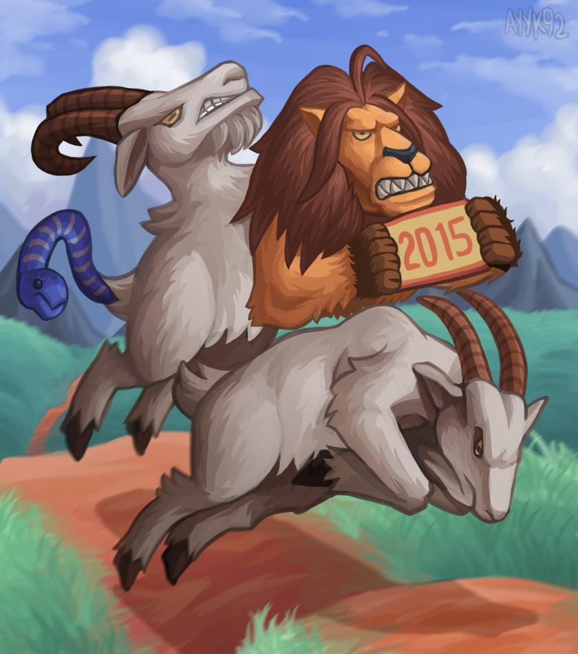 2015 Goat by ayyk92