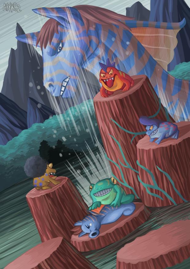 Frog Bullies by ayyk92