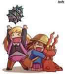 Kids with Pokemon