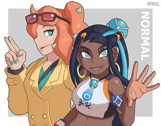Sonia and Nessa - Normal by ayyk92