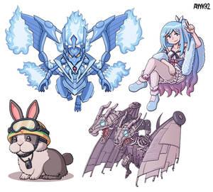 Yugioh Monsters