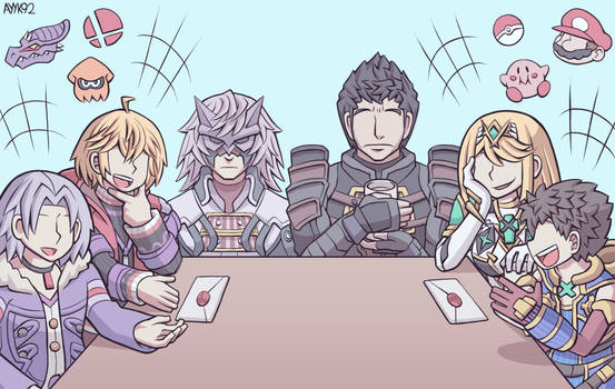 Family Reunion [Xenoblade 1 + 2 spoilers]