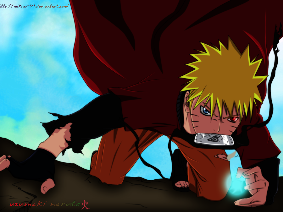 Naruto Battle by GoLD-MK