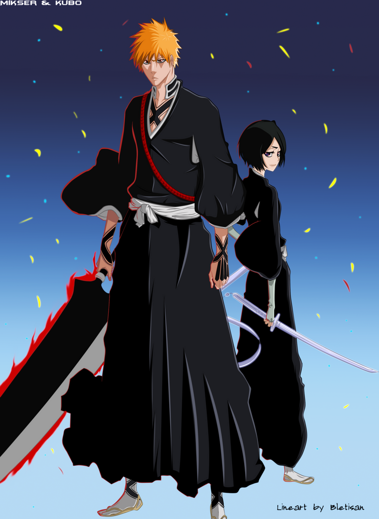 Bleach 460: ichigo and rukia by GoLD-MK on DeviantArt